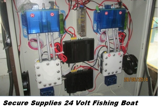 Secure Supplies HHO Fishing Boat